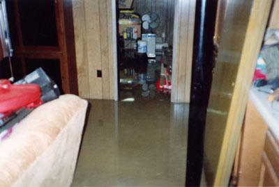 Water in Basement & Basement Water Damage